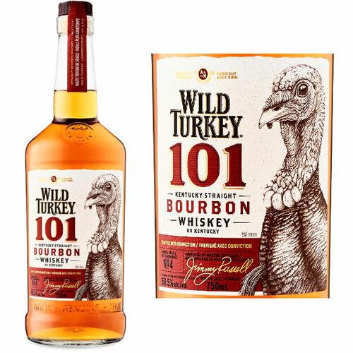 Wild Turkey 101 Kentucky Straight Bourbon 750ml