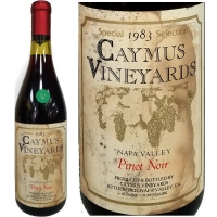 Caymus Special Selection Napa Pinot Noir 1983-6