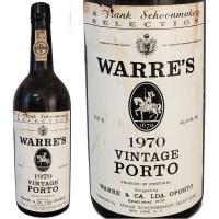 Warre's Vintage Port 1970 (Portugal) Rated 91JS