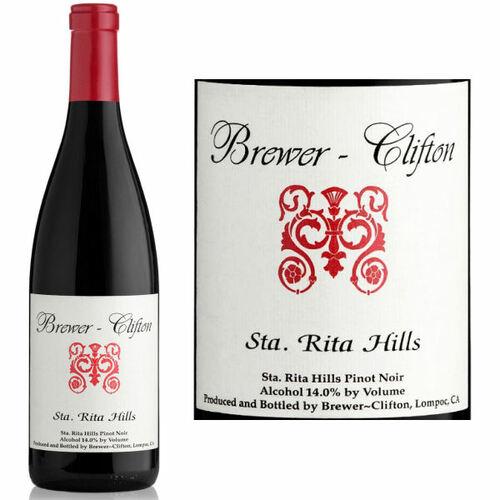 Brewer Clifton Sta. Rita Hills Pinot Noir 2016 Rated 90WA