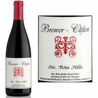 Brewer Clifton Sta. Rita Hills Pinot Noir 2015 Rated 93WE EDITORS CHOICE