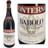 Giacomo Conterno Cascina Francia Barolo 1990 (Italy) Rated 98WA