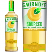 Smirnoff Sourced Pineapple Vodka 750ml