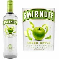 Smirnoff Green Apple Vodka 750ml