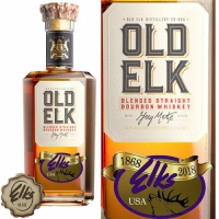 Old Elk & Elks Lodge 150th Anniversary Bourbon Whiskey 750ml SHIPPING ON or BEFORE AUGUST 9th