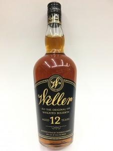 Weller Kentucky Straight Bourbon Whiskey Aged 12 Years 750ml