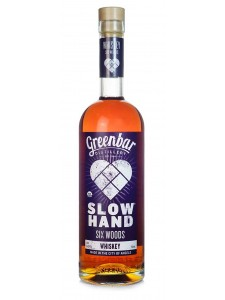 Greenbar Distillery Slow Hand Six Woods Whiskey 750ml