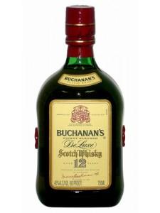 Buchanan's De Luxe 12 Years Blended Scotch 750ml