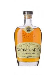 WhistlePig Aged 10 years Straight Rye Whiskey 750ml