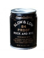 Hochstadter's Slow & Low 84 Proof Rock and Rye 100ML Can