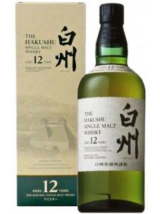 Hakushu 12 years Single Malt Japanese Whisky 750ml