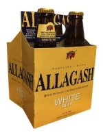 Allagash Belgian Style White Beer chilled four pack 12 oz. bottles