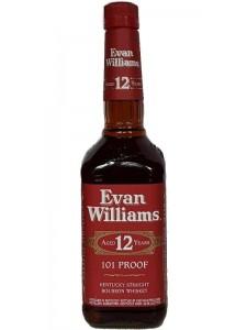 Evan Williams Aged 12 Years Kentucky Straight Bourbon Whiskey 750ml