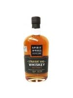 Spirit Works Straight Rye Whiskey-- ORGANIC 750ml