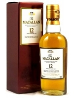 The Macallan Highland Single Malt Scotch 12 Years Old 50 ML