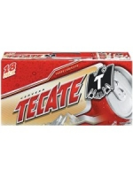 Tecate 18-pack cold cans