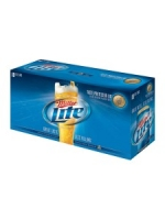 Miller Lite 18-pack chilled cans