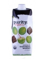 Purity 100% Organic Chocolate Coconut Water 17 fl.oz 500 ML