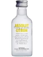 Absolut Citron Vodka 50ML