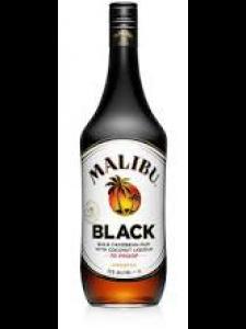 Malibu Black Caribbean Rum With Coconut Liqueur 750ml