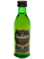 Glenfiddich 12 Years Old Single Malt Scotch 50ML