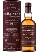 THE BALVENIE 17 YEARS DOUBLE WOOD CASK SINGLE MALT SCOTCH WHISKY