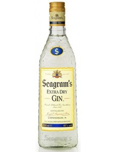 Seagrams Extra Dry Gin 375ML