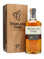 Highland Park Single Malt 25 Years Old Scotch