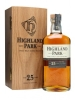 Highland Park Single Malt 25 Years Old Scotch older release 750ml