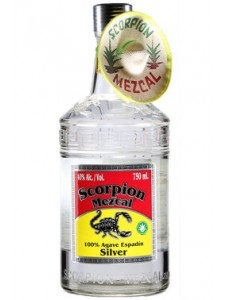 Scorpion Mezcal Silver Agave Tequila 750ml