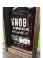 Knob Creek 25th Anniversary Fred Noe Kentucky Straight Bourbon Whiskey 750ml
