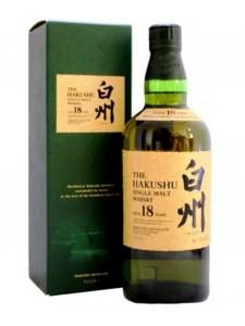 The Hakushu Aged 18 years Single Malt Japanese Whisky 750ml
