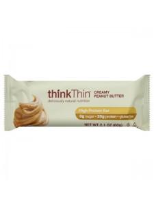 Think Thin High Protein Bar Creamy Peanut Butter