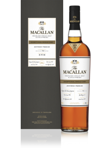 The MACALLAN EXCEPTIONAL SINGLE CASK NUMBER 2017/ESB-2339/05 750ml