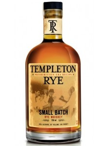 Templeton Rye 4 years 750ml