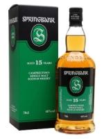 Springbank Single Cask Aged 15 Years Campbeltown Single Malt Scotch Whisky 750ml