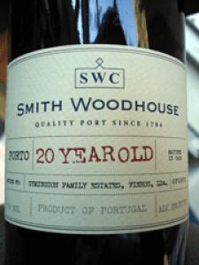 Smith Woodhouse 20 Years Old Tawny Porto 750ml