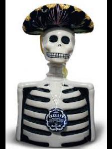 Skelly Anejo Ultra Premium Tequila Figurine 750ml
