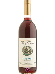 King David Concord Sweet Red Wine 750ml