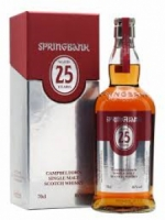 Springbank Aged 25 Years Campbelltown Single Malt Scotch Whisky 750ml