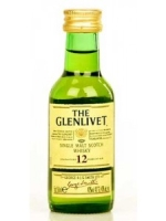The Glenlivet 12 year old Single Malt Scotch 50 ML