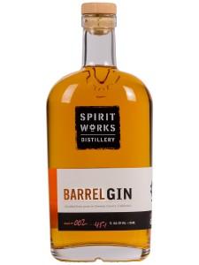 Spirit Works Barrel Gin -- ORGANIC 750ml