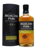 Highland Park Aged 15 years Single Malt Scotch
