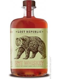 Lost Republic Straight Bourbon Whiskey 750ml