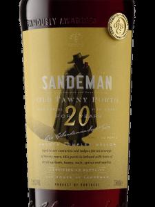 Sandeman Old Tawny Porto Aged 20 Years 750ml