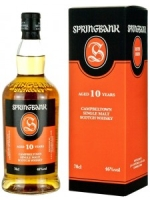 Springbank Aged 10 Years Campbeltown Single Malt Scotch Whisky 750ml