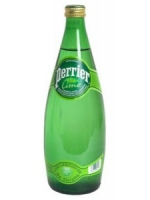 Perrier Lime Sparkling Water 750ML