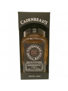 Cadenhead Small Batch Distilled at Strathclyde Aged 29 years Single Malt Scotch 750ml