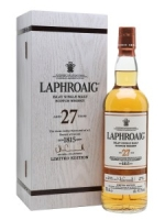 Laphroaig Islay Single Malt Scotch Whisky Aged 27 Years 7500ml