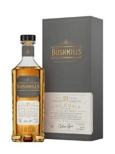 Bushmills Single Malt Irish Whiskey Rare Aged 21 Years 750ml